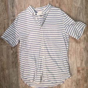 Men's Short Sleeve Button Up (Slim Fit)